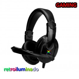 Cascos Auriculares Gaming con micrófono PC PS4 Xbox One Xtrike Me GH-508