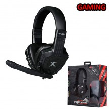 Cascos Auriculares Gaming con micrófono PC PS4 Xbox One Xtrike Me HP-302