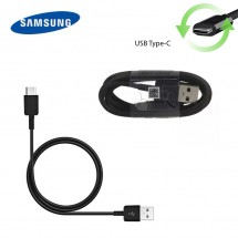 Cable datos carga Original Samsung Tipo-C color negro