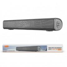 Altavoz barra sonido Bluetooth 18W pantalla LED - reloj - lector tarjetas - FM - OP-TF4158