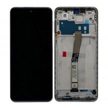 Pantalla Original con marco Aurora Blue Xiaomi Redmi Note 9S / Note 9 Pro