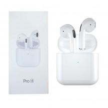 Auriculares Bluetooth tipo Air Pro 4 estuche carga inalámbrica