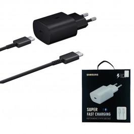 Cargador Super Rápido EP-TA800 ORIGINAL Samsung 3A Negro con caja