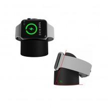 Cargador inalámbrico magnético para reloj Apple Watch color negro