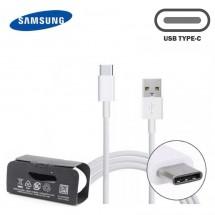 Cable Original Samsung USB Tipo-C color blanco con caja