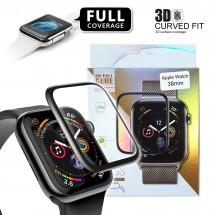 Protector cristal templado completo para Apple Watch 38mm