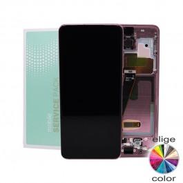 Pantalla ORIGINAL Service Pack con marco Samsung Galaxy S20 G980