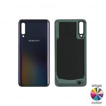 Tapa trasera batería negro para Samsung Galaxy A90 A905F