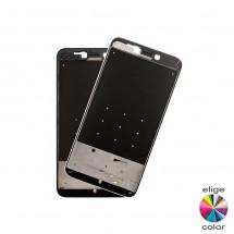 Marco frontal display blanco / negro Xiaomi Redmi 4X (swap)