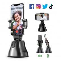 Soporte 360º móviles Seguimiento inteligente Selfie Instagram Tik Tok Facebook