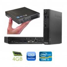 Lenovo ThinkCentre M72e - i3 2.6GHz  - 8Gb RAM - SSD 160Gb - WIFI - Usado (3 meses de garantia)