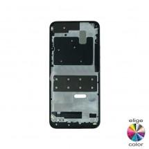 Marco frontal pantalla para Huawei P Smart Z negro