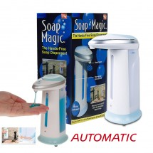 Dispensador automático con sensor Gel Desinfectante Jabón Baño