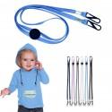 Cinta cordón ajustable sujeción mascarilla y gafas para niños y adultos