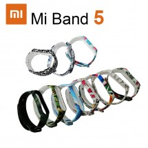 Correa silicona dibujos para pulsera reloj Xiaomi Mi Band 5