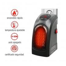 Mini estufa calefactor portátil para Oficina Casa Taller Handy Heater 350W