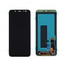 Pantalla completa LCD y táctil color negro para Samsung Galaxy J6 2018 J600F
