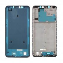 Marco frontal display color blanco para Xiaomi Redmi Note 6 Pro