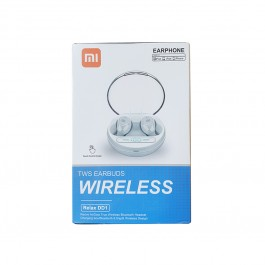 Auriculares Bluetooth TWS Earbuds Relax DD1 con estuche carga inalámbrica