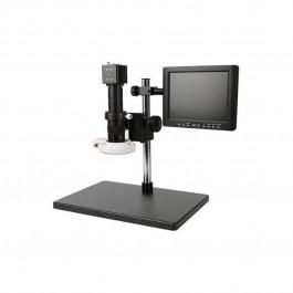 "Microscópio Digital LED-1600x con monitor 8"" Kaisi KS-45ADB"