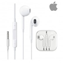 Auriculares ORIGINALES para iPhone iPhone iPad iPod (en caja transparente)