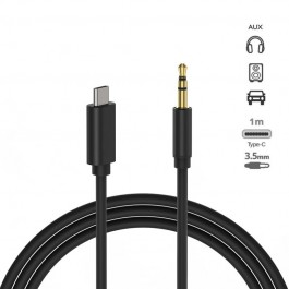 Cable audio adaptador Type-C a Jack Audio 3.5mm 1m NW-FSD1567