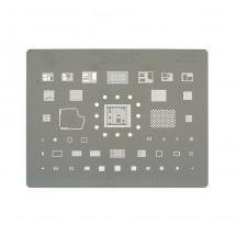 Plantilla Reballing extrafina 28 en 1 Mechanic S20 iPhone 11 / 11 Pro / 11 Pro Max