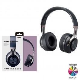 Cascos auriculares Bluetooth lector tarjeta MicroSD rellamada OP-CT959
