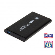 "Caja disco duro externo HD 2.5"" SAT USB 3.0 5GBps - ref. NW-MYX321"
