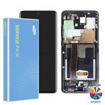 Pantalla Original Service Pack con marco Samsung Galaxy S20 Ultra G988