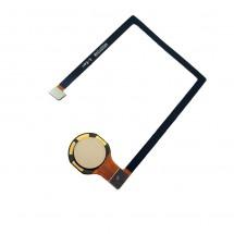 Flex Original botón huella color dorado para ZTE Axon 7 Mini