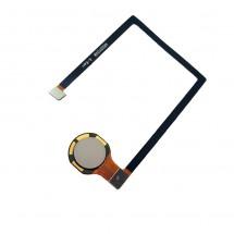 Flex Original botón huella color Gris para ZTE Axon 7 Mini
