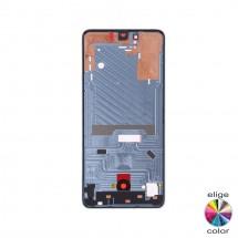 Marco frontal display para Huawei P30 (swap)