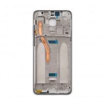 Marco frontal display color blanco para Xiaomi Redmi Note 8 Pro (swap)