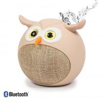 Altavoz Bluetooth Kooltech de 3W infantil forma de Búho - HV