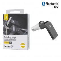 Transmisor Bluetooth Mp3 y Cargador mechero con lector tarjetas OP-NT7004