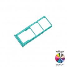 Bandeja porta tarjeta Sim y MicroSD para Samsung Galaxy M30S M307