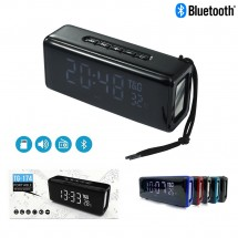 Altavoz Bluetooth TG174 Reloj Despertador Radio FM - MV