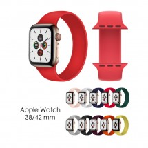 Correa ajustable sin cierre Apple Watch 38/40/42/44mm varias tallas y colores - NW-FSD1573
