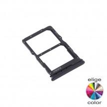 Bandeja porta tarjeta Sim y MicroSD para Huawei P40 Lite 5G