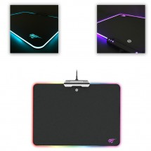 Alfombrilla MP02 ratón con luz Led Regulable ideal para Gaming