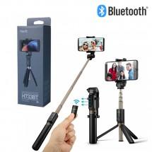 Trípode Palo Selfie Bluetooth con Mado para móviles Android iOS HV-H733BT