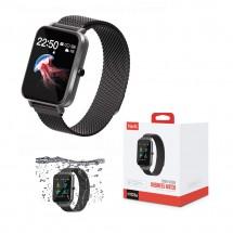 Reloj Smartwatch deportivo sumergible 30m Zinc y Acero Inoxidable HV-H1103A