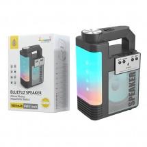 Altavoz portátil bluetooth luz LED batería 1800mAh lector tarjeta
