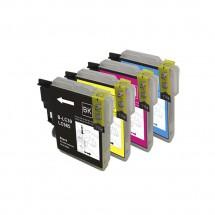Cartucho Tinta compatible LC985Y B-LC39 9ml Impresora Brother