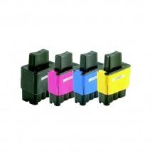 Cartucho Tinta compatible LC900 LC-41 25/15ml para impresoras Brother
