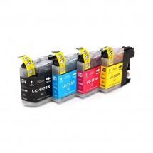 Cartucho Tinta compatible LC125/127 B-LC39 30/15ml Impresora Brother