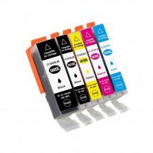 Cartucho Tinta compatible CLI-581XXL para impresoras Canon