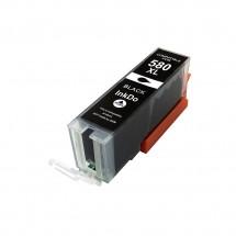 Cartucho Tinta compatible CLI-580XXL negro para impresoras Canon
