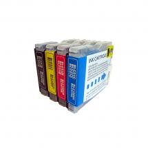 Cartucho Tinta compatible LC970/1000 para impresora Brother